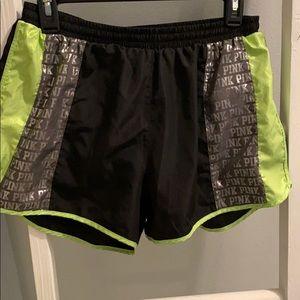 Pink Victoria Secret Athletic Shorts